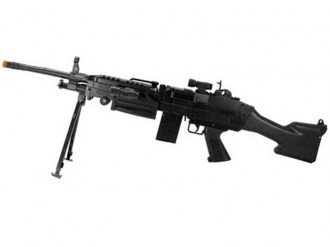 M249-P1249-Airsoft Rifle-w-Pistol-Spring
