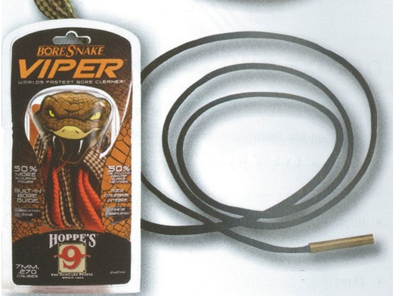 how to use hoppes bore snake